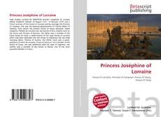 Bookcover of Princess Joséphine of Lorraine