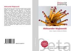 Bookcover of Aleksander Majkowski