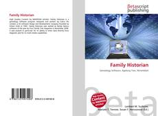 Bookcover of Family Historian