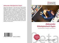 Capa do livro de Aleksander Nikolajewitsch Pypin