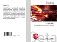Bookcover of Fabric OS