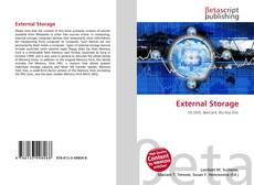 Bookcover of External Storage