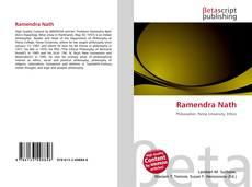Bookcover of Ramendra Nath