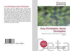 Tony Christopher, Baron Christopher kitap kapağı