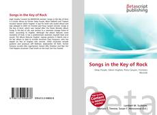 Copertina di Songs in the Key of Rock
