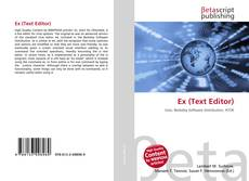 Bookcover of Ex (Text Editor)