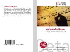Bookcover of Aleksander Rjabov