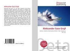 Buchcover von Aleksander Saso Grajf