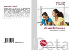 Buchcover von Aleksander Suuman