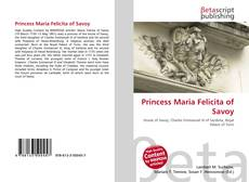 Princess Maria Felicita of Savoy的封面