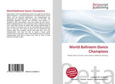 Couverture de World Ballroom Dance Champions