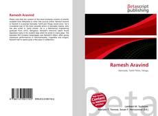Capa do livro de Ramesh Aravind