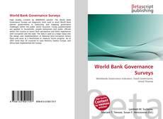 Couverture de World Bank Governance Surveys