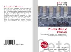 Princess Marie of Denmark的封面