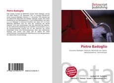 Bookcover of Pietro Badoglio