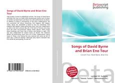 Buchcover von Songs of David Byrne and Brian Eno Tour
