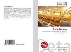 Portada del libro de Anna Badora