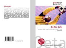 Badou Zaki kitap kapağı