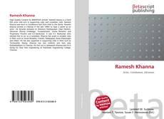 Bookcover of Ramesh Khanna