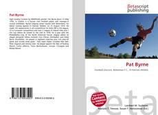 Bookcover of Pat Byrne