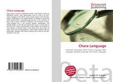 Portada del libro de Chara Language