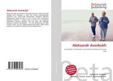 Buchcover von Aleksandr Averbukh