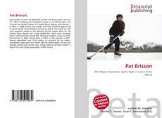 Bookcover of Pat Brisson