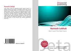 Bookcover of Ramesh Lekhak