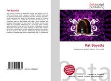 Pat Boyette的封面