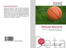 Bookcover of Aleksandr Belostennj