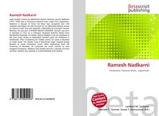 Bookcover of Ramesh Nadkarni