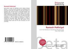 Bookcover of Ramesh Pokhriyal