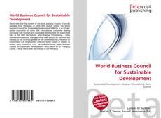 Couverture de World Business Council for Sustainable Development