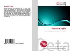 Bookcover of Ramesh Sethi