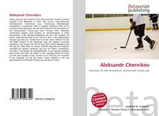 Bookcover of Aleksandr Chernikov