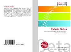 Bookcover of Victoria Stakes