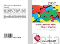 Обложка Victoria Scholars Men's Choral Ensemble