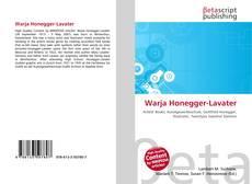 Warja Honegger-Lavater的封面