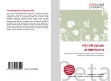 Bookcover of Heliotropium arborescens