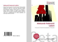 Portada del libro de Aleksandr Fedorovič Labzin