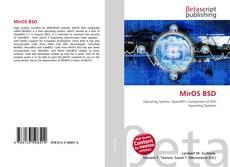 Copertina di MirOS BSD