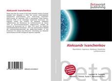 Capa do livro de Aleksandr Ivanchenkov