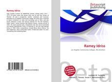 Bookcover of Ramey Idriss