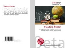 Обложка Standard Tibetan