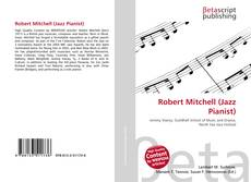 Portada del libro de Robert Mitchell (Jazz Pianist)