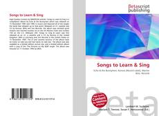 Bookcover of Songs to Learn & Sing