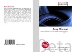 Capa do livro de Tony Clement