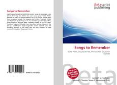 Bookcover of Songs to Remember