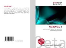 Bookcover of WorldView-1