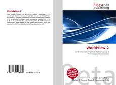 Bookcover of WorldView-2